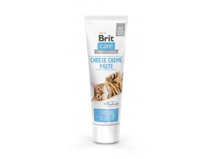 Brit Care Cat Paste Cheese Creme with Prebiotics 100g (expirace: 31.5.2021)