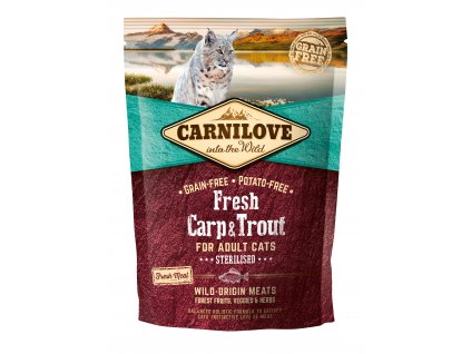 Carnilove Cat Fresh Carp & Trout Sterilized 0,4kg
