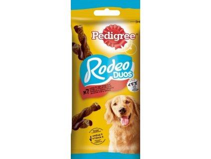 PEDIGREE Rodeo s hovězím a sýrem 123g
