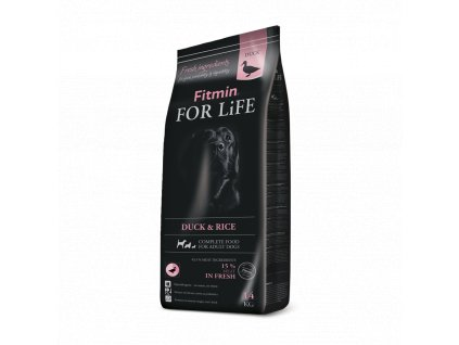 Fitmin dog For Life Duck & Rice 14kg