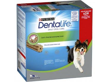 Purina Dentalife Medium Multipack 24 tyčinek