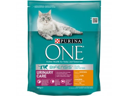 Purina ONE GK BIFENSIS Urinary Care s kuřecím a pšenicí 800g
