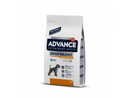 ADVANCE Veterinary Diets Dog Weight Balance 12KG