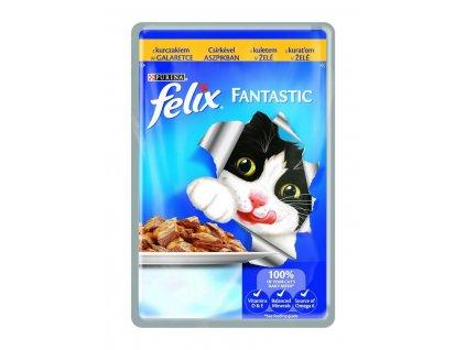 Felix Fantastic kapsička s kuřetem v želé 100g