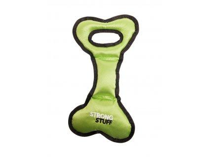 Hračka KARLIE Strong stuff zelená kost