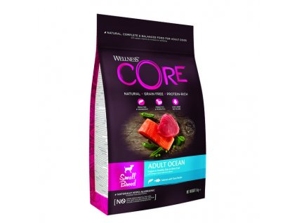 36903 wellness core dog small breed adult ocean 5kg