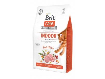 Brit Care Cat Grain-Free Indoor Anti-stress 2 kg