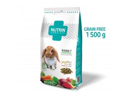 37683 nutrin complete kralik vegetable grain free 1500g