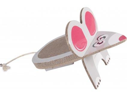37893 hracka flamingo kartonova myska
