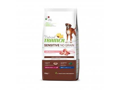 38175 trainer natural sensitive dog no grain m m veprove 12kg
