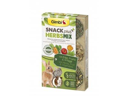 38277 gimbi snack plus bylinky mix 50g