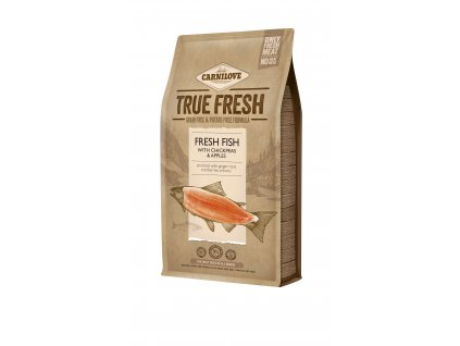 38418 carnilove true fresh fish for adult dogs 4 kg