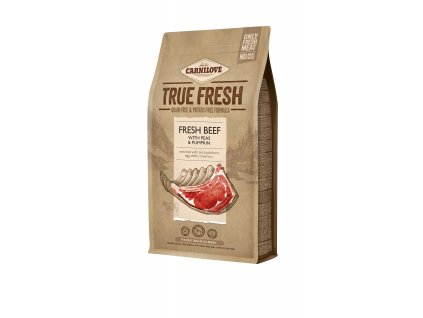 38424 carnilove true fresh beef for adult dogs 1 4 kg