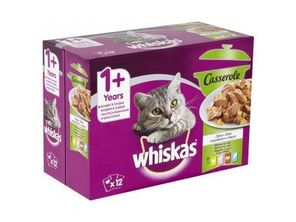 38487 kapsicka whiskas casserole multipack mix vyber v zele 12x85g