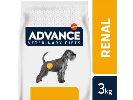 ADVANCE-VETERINARY DIETS Dog Renal Failure 3kg