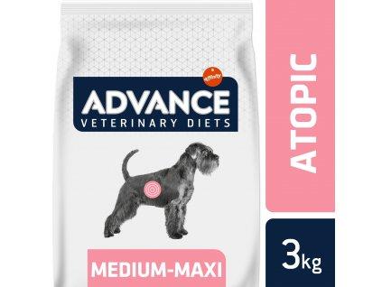 ADVANCE-VETERINARY DIETS Dog Avet Dog Atopic Medium/Maxi pstruh 3kg