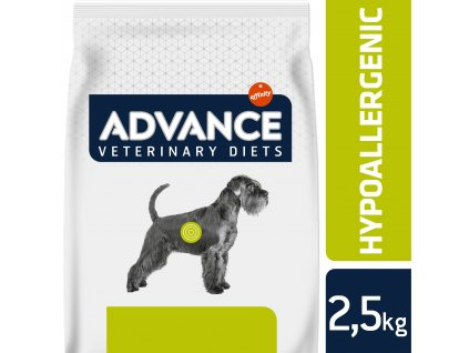 ADVANCE-VETERINARY DIETS Dog Hypoallergenic 2,5kg