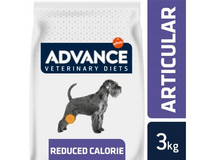 ADVANCE-VETERINARY DIETS Dog Articular Care Reduced Cal 3kg