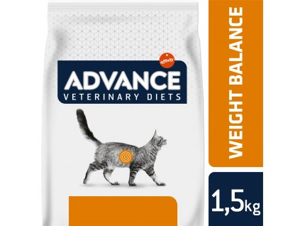 ADVANCE-VETERINARY DIETS Cat Weight Balance 1,5kg