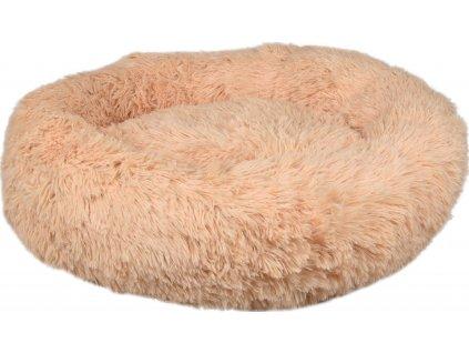 38853 flamingo chlupaty pelech kremova 50cm