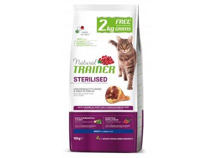 39261 granule trainer natural cat sterilised susena sunka s hraskem 8 2kg
