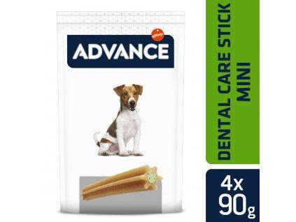 39411 advance baleni mini tycinky pro dentalni peci 360g 4ks 90g