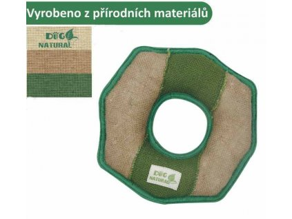 39780 hracka natural kruh pevny 21cm pro psy