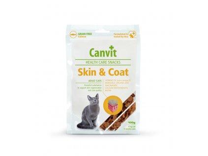 39783 canvit health care snack skin coat pro kocky 100g