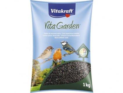 40503 vitakraft vita garden clas slunecnice cerna 1kg