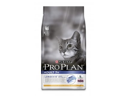 Purina Pro Plan Cat Adult senior 7+ losos 3kg