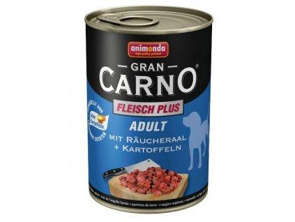 Animonda GranCarno Adult konzerva pro psy uzený úhoř+brambory 800g