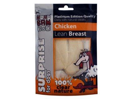 Huhubamboo Platinum Dog - Kuřecí libová prsíčka 50g (expirace: 30.8.2021)