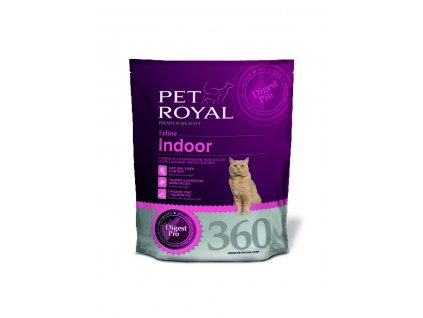Pet Royal Feline Indoor s kuřetem 360g (expirace: 17.11.2020)