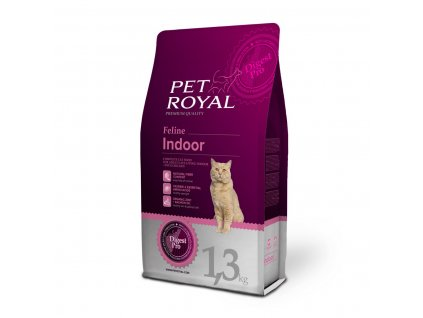 Pet Royal Feline Indoor s kuřetem 1,3kg