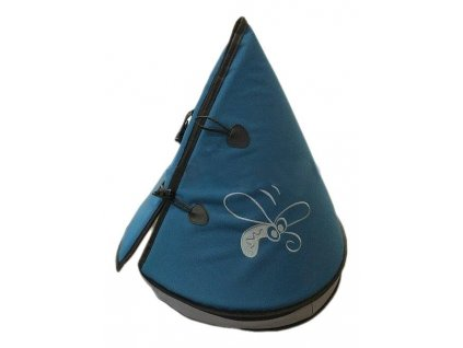 Huhubamboo teepee modrá+šedá 50cm