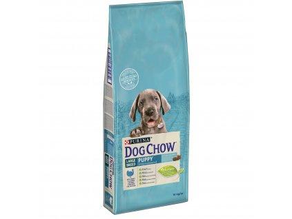 Dog Chow Puppy krůtí pro velká plemena 14kg (expirace: 30.10.2020)