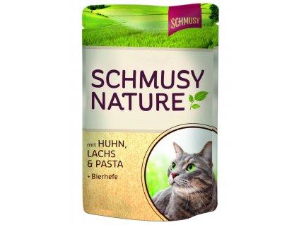 Finnern Schmusy Nature kapsička kuře+ryba 100g