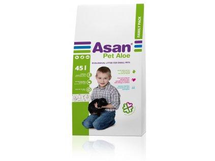 Asan Pet Aloe podestýlka pro hlodavce 45l (9,7kg)
