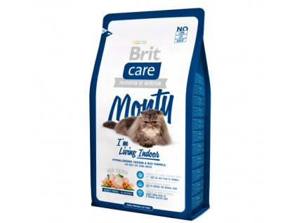 Brit Care Cat Monty I'm Living Indoor 7kg