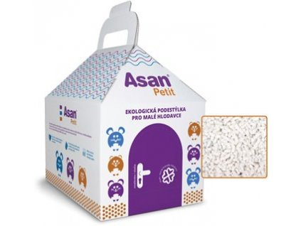 Asan Petit  podestýlka pro malé hlodavce 4,5l (1,3kg)