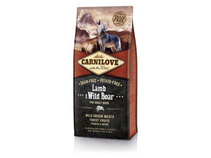 Carnilove Lamb & Wild Boar 12kg