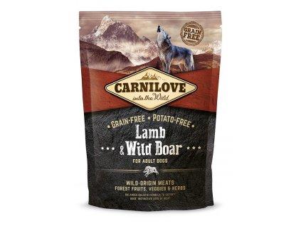 Carnilove Lamb & Wild Boar 1,5kg