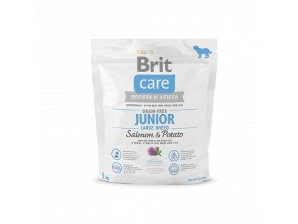 Brit Care Grain Free Junior Large Breed Salmon & Potato 1kg