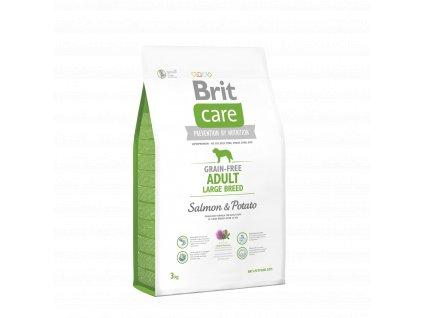 Brit Care Grain Free Adult Large Breed Salmon & Potato 3kg