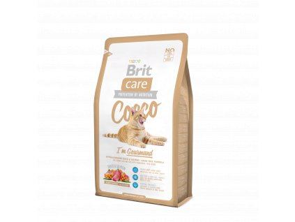 Brit Care Cat Cocco I' am Gourmand 2kg