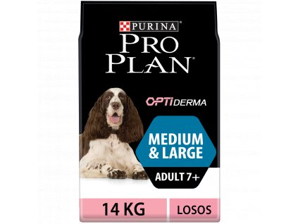 Purina Pro Plan Adult 7+ Sensitive Skin 14kg