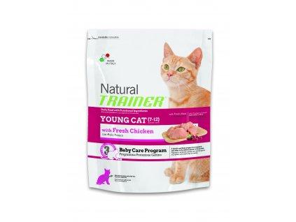 TRAINER Natural Cat Young kuřecí 1,5kg