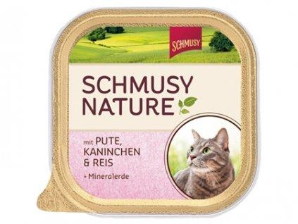 Finnern Schmusy Nature paštika krůta+králík 100g