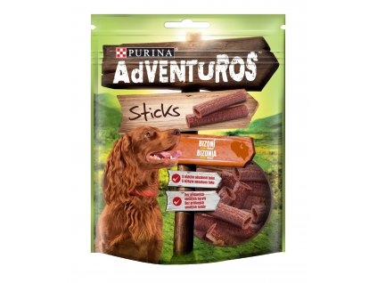 ADVENTUROS Snack Sticks bizon 120g