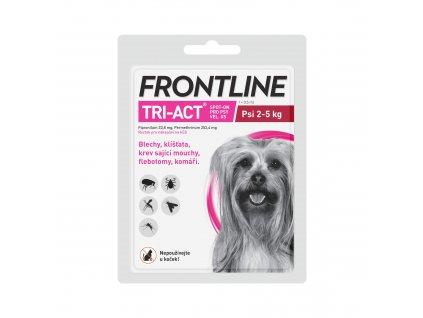 Frontline antiparazitika TRI-ACT Spot-on Dog 0,5ml XS